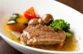 やわらかホホ肉と季節野菜の炊き合わせ